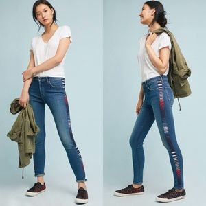 LEVI'S 721 High Rise Embroidered Skinny Jeans